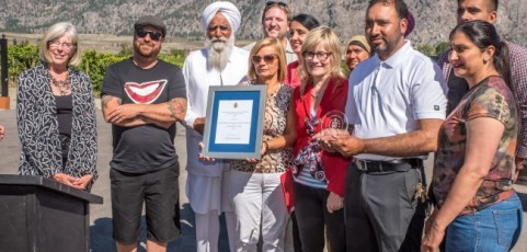 Bordertown estate winery from Osoyoos wins prestigious Lieutenant Governor's wine award